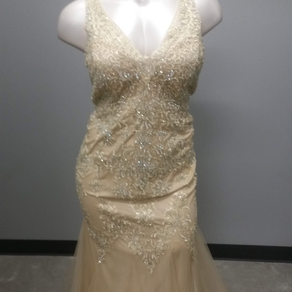 GLS Collective Dresses & Skirts - Champagne prom dress